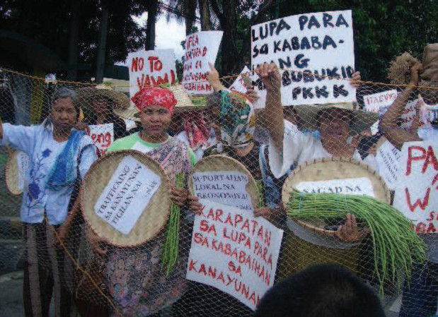 Rural women call for equal rights in agrarian reform, Philippines
