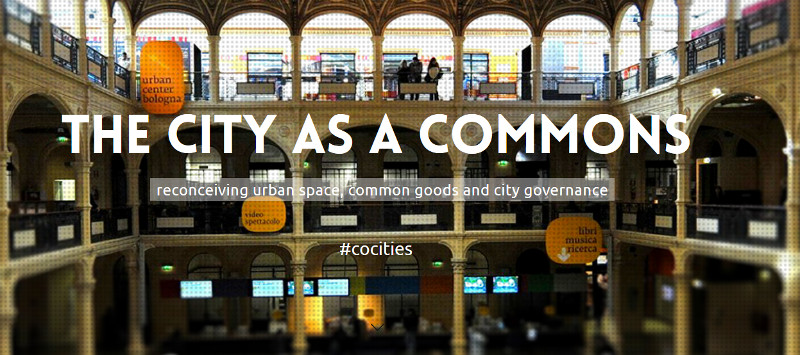 The City as a Commons Conference, Bologna, Italy