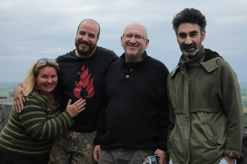 L-R: Ann Marie Utratel, Stacco Troncoso, Michel Bauwens and James Burke. Image by Kevin Flanagan