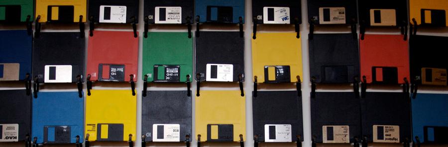 Floppy disk revolution