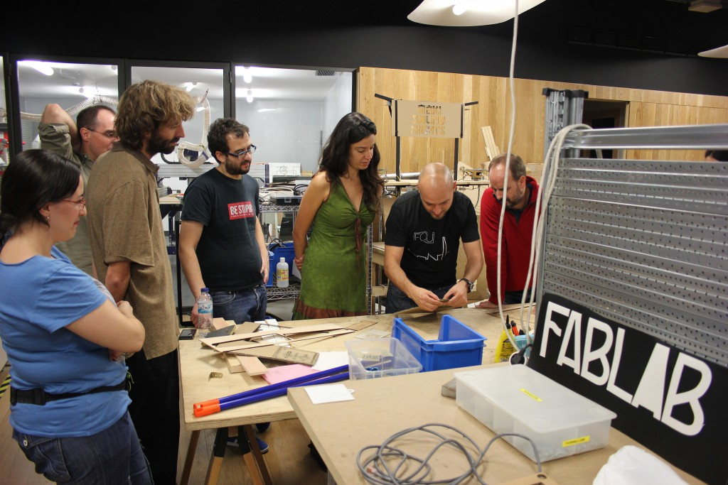 Fablab at MediaLab Prado