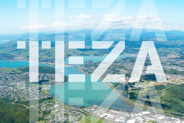 logo for the Transitional Economic Zone of Aotearoa, (Porirua, Wellington